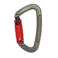 35KN Triple Locking Carabiner Twistlock Heavy Duty Rock Tree Climbing Gear UIAA