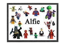 NINJAGO LEGO POSTER 260GSM A5..A4..A3 OPTIONS