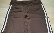 Avia stretch fitness / yoga pants brown women's M 8-10