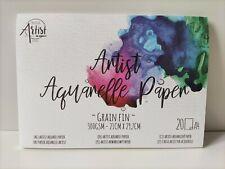 Aquarell Papier - 20 Blatt DIN A...