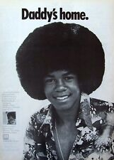 the jackson 5 Jermaine Jackson 1973 Poster Ad Daddy'S Home motown