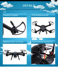 2.4Ghz 6-Axis Gyro RC Quadcopter kit gopro Drone UAV RTF UFO with 2MP HD Camera