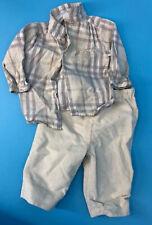 Burberry Children Baby Kids Set Outfit 6 Months Nova Check Top Pants Boys Girls