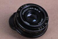 Russian Lens Industar 50-2 50mm 3.5 Camera M42 Mount Zenit Sony Canon Nikon