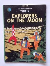 Explorers on the Moon  Tintin  by Herge 0416800408 1988 English
