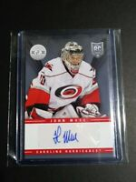 2013-14 Totally Certified Rookie Autograph #TR-JMU John Muse Auto Hurricanes