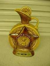 "Jim Beam Genuine Regal China Liquor Bottle Decanter by C. Miller 1968 10-1/2"""
