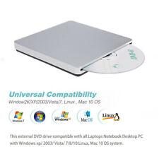 Externes DVD Laufwerk USB 3.0/Typ-C Brenner Slim CD DVD-RW Brenner für PC Laptop