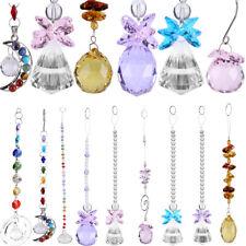 HOT Clear Crystal Ball Suncatcher Prisms Pendant Rainbow Hanging Wedding Decor