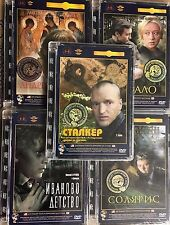 5 DVD NTSC SET  ANDREI  TARKOVSKY KRUPNIY PLAN DIGITALLY REMAST BRAND NEW