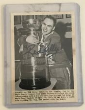 2011/12 UD Parkhurst Champions Wire Auto Red Kelly Maple Leafs Stanley Cup Mint