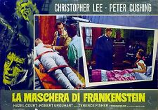 CURSE OF FRANKENSTEIN 1957 Peter Cushing Christopher Lee ITALIAN PHOTOBUSTA #6
