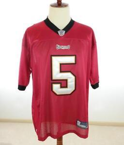 Mens 52 XL REEBOK On-Field NFL Equipment Jersey Tampa Bay Buccaneers Freeman