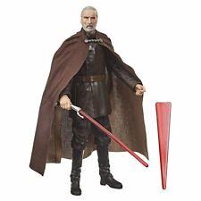 6 Inch Count Dooku Darth Tyranus Sith Lord Figure Star Wars Black Series ..LOOSE