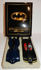 2 MODELS CORGI 77313 VINTAGE 1960'S DC COMICS BATMOBILE BATMAN 2004 1/43 IN BOX