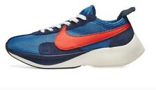 New Nike Moon Racer QS in Mountain Blue/Team Orange Colour Size 12