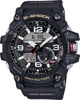 Casio G-Shock Mudmaster Men's Twin Sensor Black Resin Strap 55mm Watch GG1000-1A