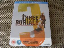 Blu Steel 4 U: The Three Burials Of Melquiades Estrada : Ltd Ed Steelbook Sealed