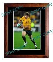 DREW MITCHELL AUST WALLABIES 2011 WORLD CUP A3 PHOTO 2
