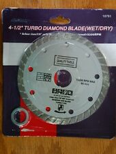 "4 1/2 inch Diamond Saw Blade , Wet 5/8 or 7/8 inch arbor, 4.5"""