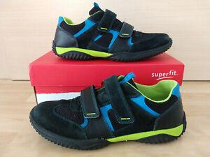 SUPERFIT  Halbschuh Sneaker Größe 42 mit Leder Klett gebraucht , guter Zustand!