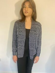 Women's One Size Denim Knitted Cardigan FREE DELIVERY