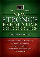 King James Version  New Strong's Exhaustive Concordance, Strong, James, Good Boo