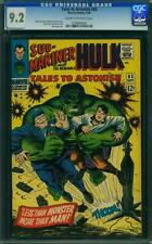 Tales to Astonish #83 CGC 9.2 -- 1966 -- Hulk.  A+ cover alignment