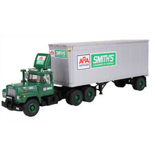 1ST FIRST GEAR 60-0288 MACK R MODEL 'SMITH'S TRANSFER' + PUP TRAILER *NEW* (OS)