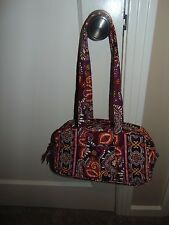 NEW WITHOUT TAGS VERA BRADLEY 100 CLASSIC HANDBAG - SAFARI SUNSET - FREE SHIP