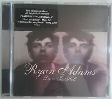 Ryan Adams Love Is Hell CD UK 2004
