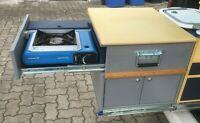 Bauplan Bulli 05: VW BusT6 T6.1 T5 Camping Küchenmodul Gaskocher Campingküche