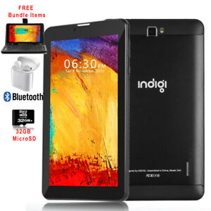 """7"""" 4G SmartPhone Android 9.0 Pie TabletPC WIFI Dual SIM & Free Bundled included"""