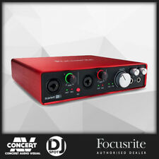 Focusrite Scarlett 6i6 USB Audio Interface w/ Pro Tools & Ableton Live (2nd Gen)