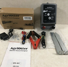Agriotter Electric Fence Energizer 20 Acre 2 In 1 Battery Or Ac 12 Volt Read