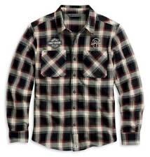 Harley Davidson Mens HDMC Plaid Long Sleeve Shirt Jacket NWT