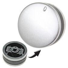 Silver Black Knob Switch for LAMONA LAM3200 LAM3300 LAM3207 LAM3404 Oven Hob