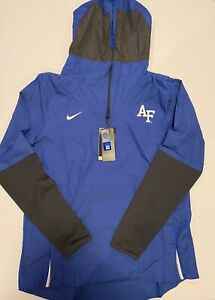 NCAA Air Force Falcons Nike OnField Coaches/Players Jacket Blue Mens Size Medium