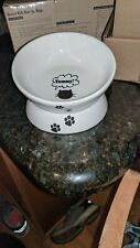 Y YHY Cat Bowl raised cat food bowls, tilted and elevated cat bowl