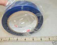 """(1) Roll  Polyester Tape 1"""" x 72 yd 3M silicone adhesive Blue 3M 8951 High Heat"""