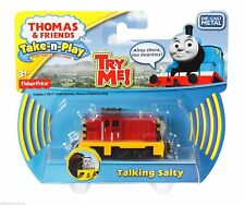 Thomas & Friends Take-n-Play TALKING SALTY Die-Cast Metal Train - NEW