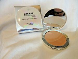 IT Cosmetics Bye Bye Foundation Powder Full Coverage 3D Skin Flex Medium NIB