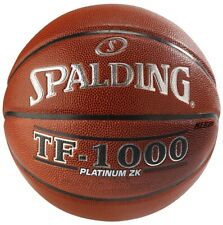 """Spalding TF-1000 Platinum ZK Full Size Basketball NFHS Official Size 7 (29.5"""")"""