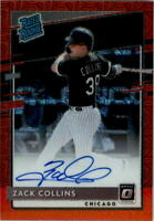 2020 Donruss Optic Rated Rookies Signatures Red Mojo #9 Zack Collins Auto /99