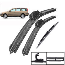 """Front Rear Wiper Blades Set For Volvo V70 XC70 2000 2001 2002 2003 24""""21""""16"""""""