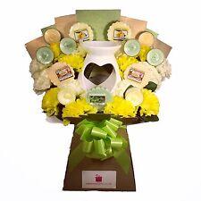 UK's only Official Yankee Candle Wax Melt & Tea Lights & Silk Carnations Bouquet