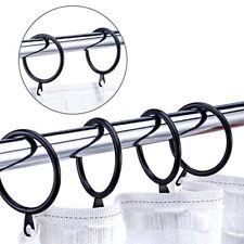 Set 10 Pezzi Anelli In Metallo Per Asta Tende Tenda 30mm dfh