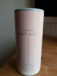 Avon Soft Musk Shimmering Body Powder 40g New
