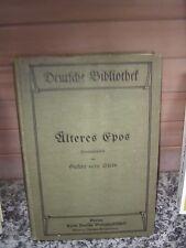 Älteres Epos, herausgegeben von Gustav vorm Stein
