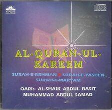 AL - Corán - UL - KAREEM ( Qari : al-shaik Abdul Basit & Abdul Samad ) Surah CD